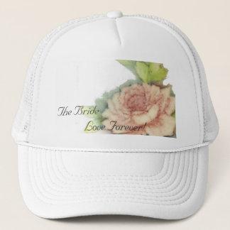 Casquette De l'anglais d'amour Casquette-Personnaliser rose