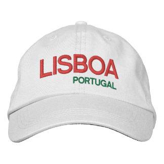 Casquette de LISBOA* PORTUGAL Chapeaux Brodés