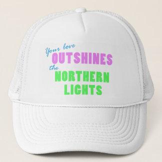 Casquette de lumières du nord