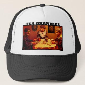 Casquette de mamies de thé