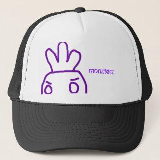 """Casquette de """"Monzterz"""" (homme pourpre de carotte)"""