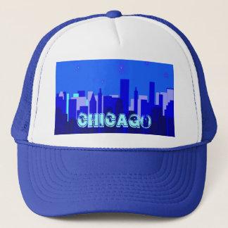Casquette de paysage urbain de Chicago