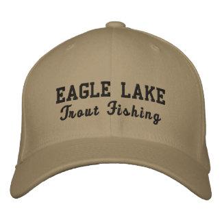 Casquette de pêche de truite grise d'Eagle