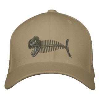 Casquette de poissons d'os