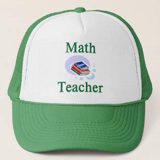 Casquette de professeur de maths