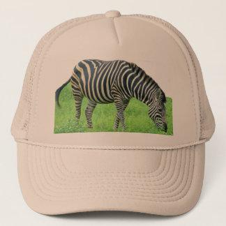 Casquette de safari de zèbre