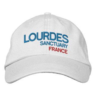 Casquette de sanctuaire de Lourdes France