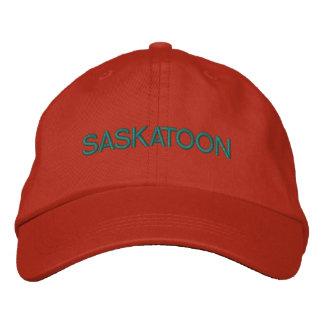 Casquette de Saskatoon Casquettes Brodées