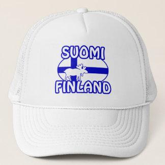 Casquette de Suomi Finlande
