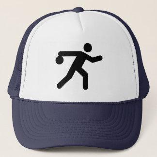 Casquette de symbole de bowling