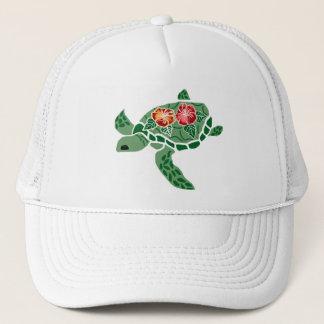 Casquette de tortue de mer de fleur de ketmie