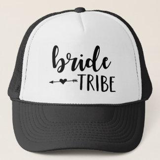 Casquette de tribu de jeune mariée pour la