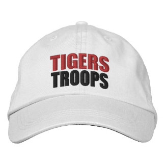 Casquette de troupes de tigres