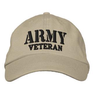 Casquette de vétéran d'armée