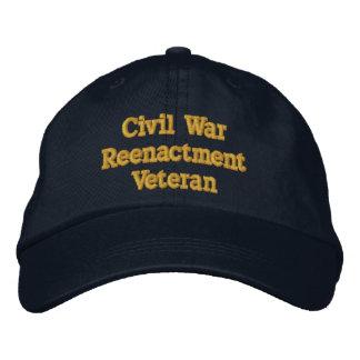 Casquette de vétéran de reconstitution de guerre