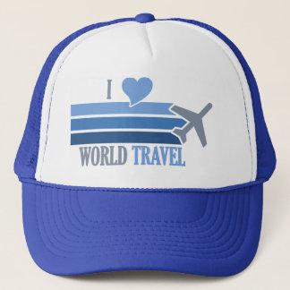 Casquette de voyage du monde