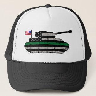 Casquette Décalque de réservoir de Ligne Verte de drapeau