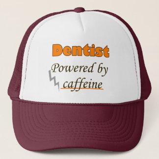 Casquette Dentist Powered by caffeine