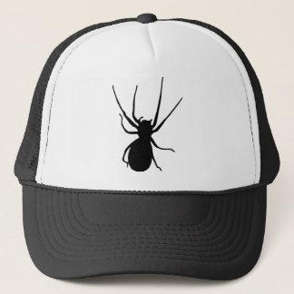 Casquette déplaisant noir d'araignée