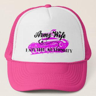 casquette d'épouse d'armée