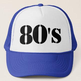 casquette des années 80