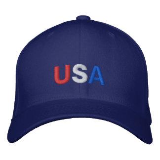 Casquette des Etats-Unis dans le bleu
