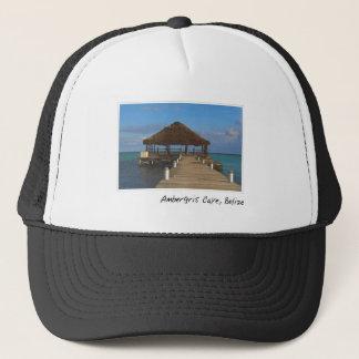 Casquette Destination de voyage de Caye Belize d'ambre gris