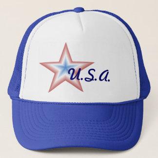 Casquette d'étoile des Etats-Unis