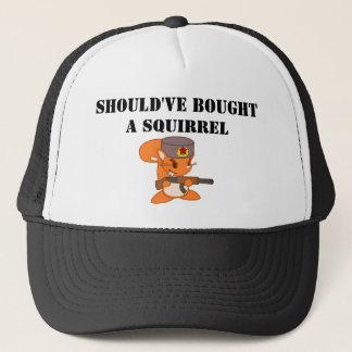 Casquette devrait avoir acheté un écureuil