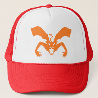 Casquette Diable orange