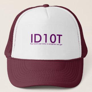 Casquette d'ID10T