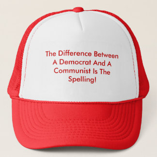 Casquette Différence entre un Démocrate et un communiste