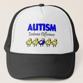 Casquette Différences d'étreinte d'autisme