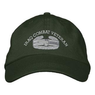 Casquette d'insigne d'action de combat de l'Irak
