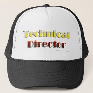 Casquette Directeur technique (texte seulement)