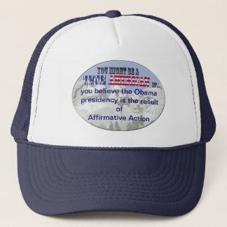 Casquette discrimination positive d'obama