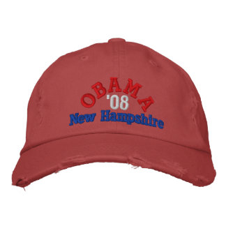 Casquette d'Obama '08 New Hampshire