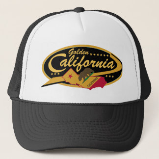 Casquette d'or de camionneur de la Californie !