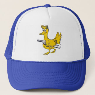 Casquette d'or de cricket de canard