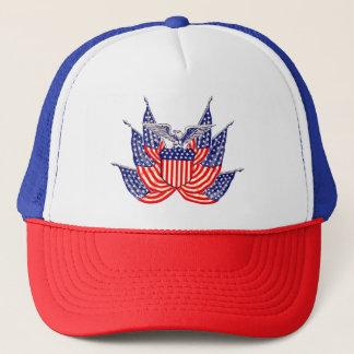 Casquette Drapeau américain patriotique vintage, quatrième