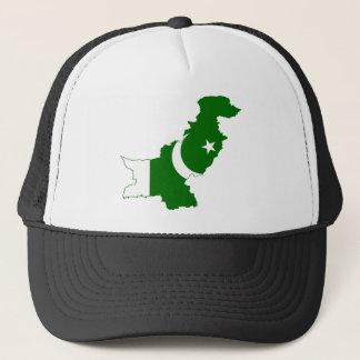 Casquette Drapeau de carte du Pakistan