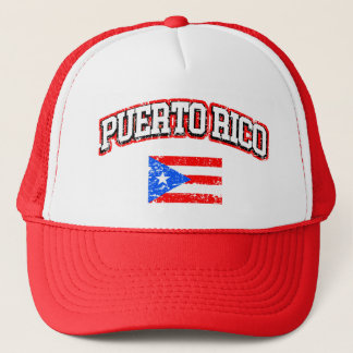 Casquette Drapeau de cru de Porto Rico