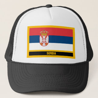 Casquette Drapeau de la Serbie
