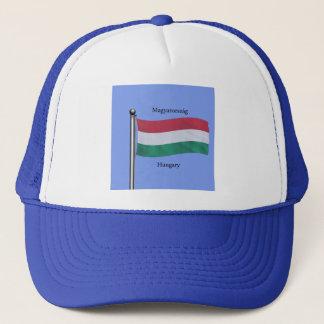 Casquette Drapeau de ondulation de la Hongrie