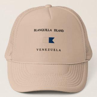 Casquette Drapeau de piqué du Venezuela d'île de Blanquilla