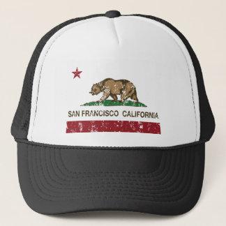 Casquette drapeau d'état de San Francisco la Californie