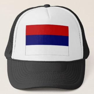 Casquette Drapeau national de la Serbie simplifié