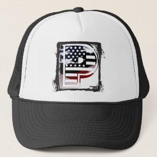 Casquette Drapeau patriotique des Etats-Unis d'initiale de