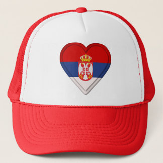 Casquette Drapeau serbe de la Serbie
