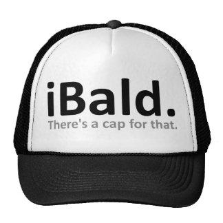 casquette drôle de casquette de baseball d'iBald